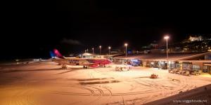 Molde lufthavn, Årø