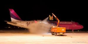 De-iceing Wizz Air